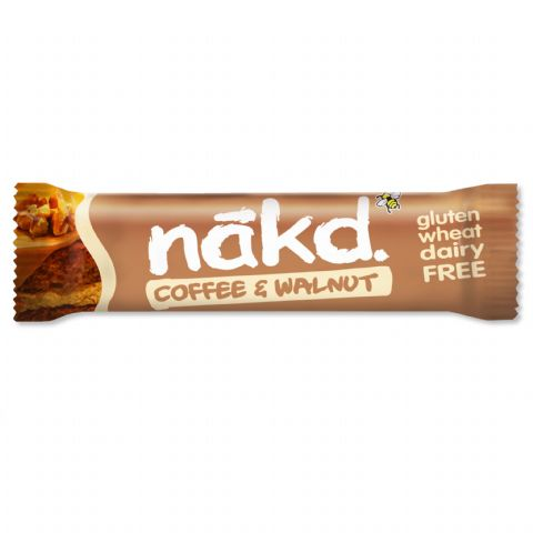 Coffee & Walnut - Nakd Raw Fruit & Nuts Bars 35g